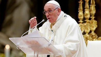 Photo of البابا فرنسيس :ما زلت على قيد الحياة رغم أن البعض أرادني ميتا