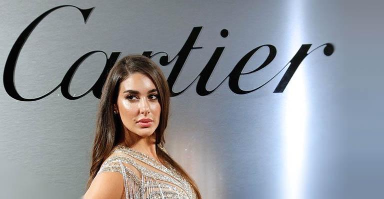 أول امرأة من الشرق الأوسط تشارك في حملة كارتييه