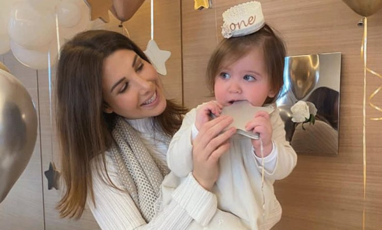 نانسي عجرم وإبنتها ليا