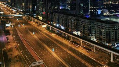 Photo of بالصور: كورونا تفرغ طرقات دبي