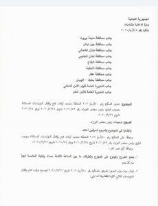 مذكرة وزير الداخلية محمد فهمي