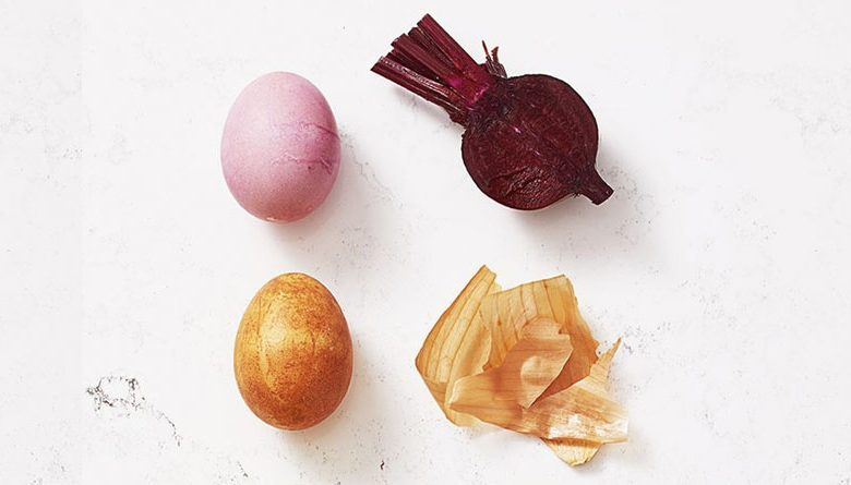 How To Make Natural Eggs Colors