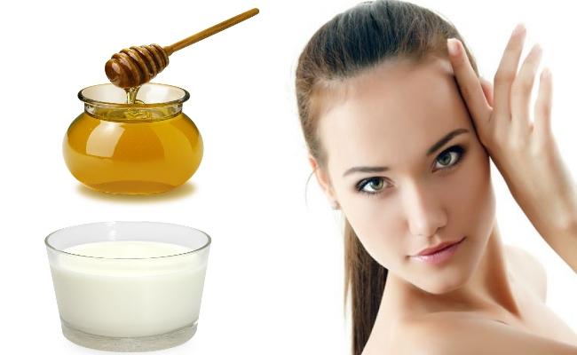 خلطة العسل والحليب لتبييض البشرة