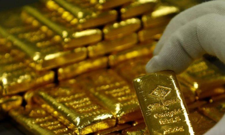أونصة الذهب 1800 دولار وهو أعلى مستوى منذ 8 أعوام