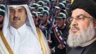 "Photo of إيران وحزب الله وثالثهما ""شكراً قطر"""