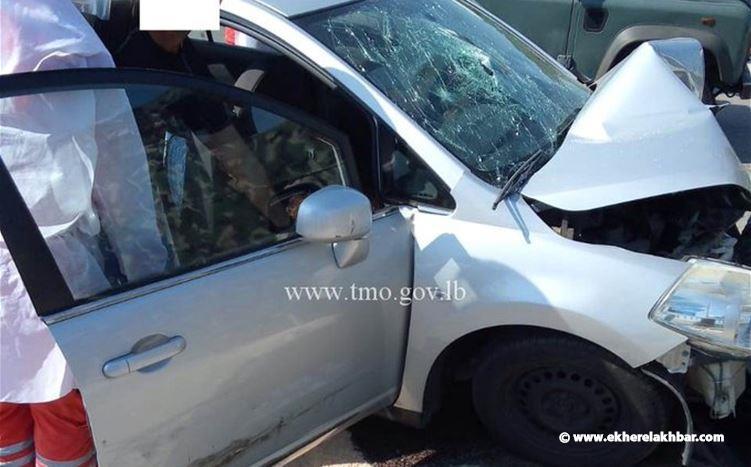 قتيلان وجريحان نتيجة إصطدام سيارة بالفاصل الاسمنتي في اليرزة
