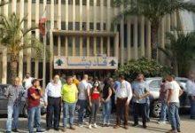 Photo of إعتصام  لعمال وموظفي شركة كهرباء قاديشا والتصعيد قريب