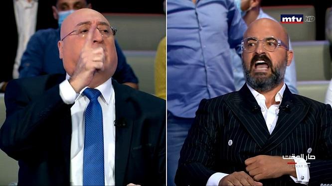 إشكال بين نديم قطيش وجوزف أبو فاضل | فيديو - Lebanese Daily