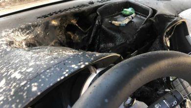 Photo of تسبب معقم اليدين بتفحم أجزاء من السيارة