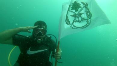 Photo of صيدا تحتفل بعيد الجيش تحت الماء