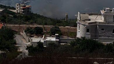 Photo of فيديو : حريق كبير بين بلدات كفرا ورشكنيناي ودير عامص والاهالي يناشدون
