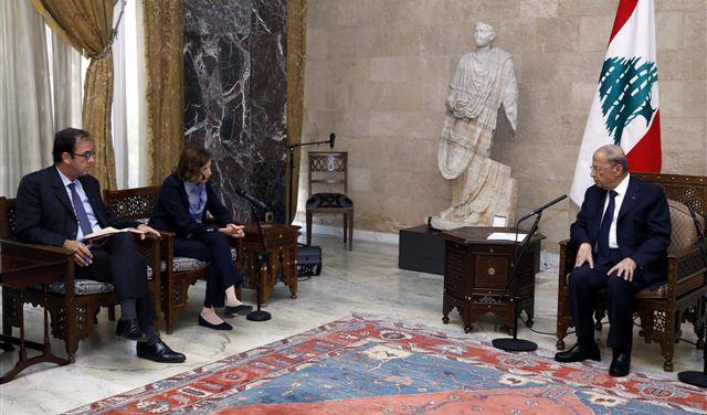 هذا ما طلبه عون من وزيرة الجيوش الفرنسية