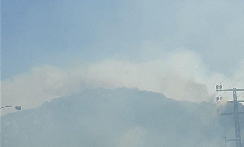 حريق كبير في بلدة حامات