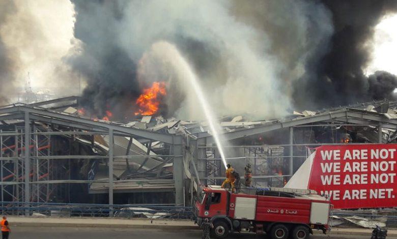 فضيحة حريق مرفأ بيروت.. هدفها حرق ملفات الجمارك   فيديو