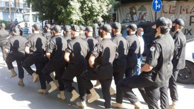 Photo of عرض عسكري للقوات في الأشرفيه