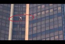 "Photo of ""سبايدرمان حقيقي"" … تسلق 210 أمتار مستخدماً يديه فقط ! | فيديو"