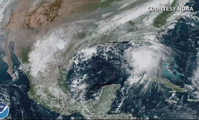 الإعصار سالي اشتد مع اقترابه من السواحل الأميركية