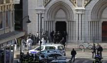 Photo of بالفيديو: هجوم إرهابي في كنيسة نوتردام وقطع رأس امرأة!