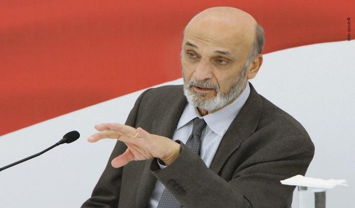 جعجع: البلوكات النفطية ليست حجة لاعادة العلاقات الدبلوماسية مع سوريا