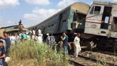 Photo of بالفيديو: اصطدام قطارين في مصر واكثر من 30 ضحية
