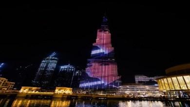 Photo of لأول مرّة … إضاءة برج خليفة بصور إليسا