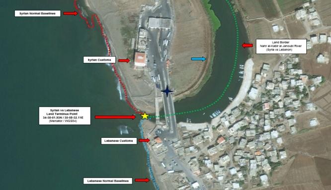 بارودي : ترسيم الحدود البحرية مع سوريا أصبح من الضرورات