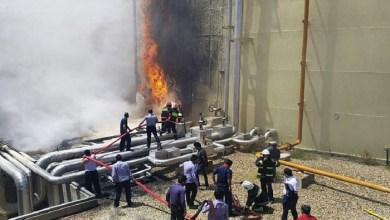 Photo of حريق ضخم في مستودع كيميائي في إيران