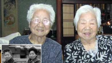 "Photo of شقيقتان يابانيتان تدخلان موسوعة ""غينيس"" كأكبر التوائم سنا في العالم"